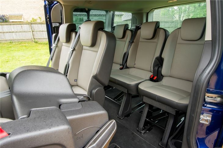 Hire a Ford Tourneo Auto 9 seater LWB